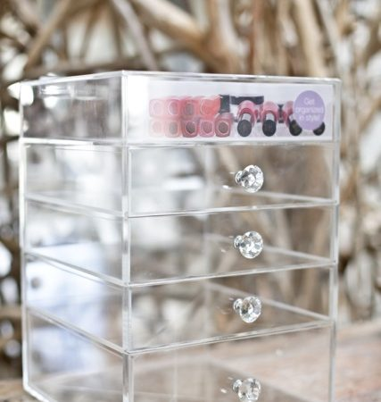 Crystal Glamour 5 Drawers