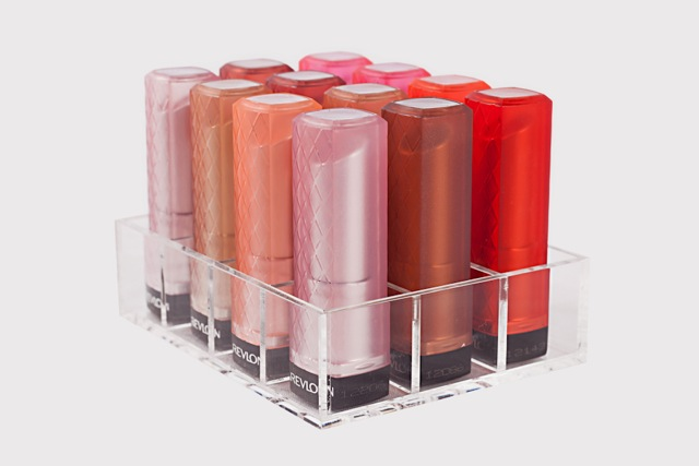 Crystal Glamour Lipstick Holder (Flat)