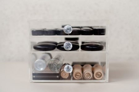 Crystal Glamour 3 Drawer